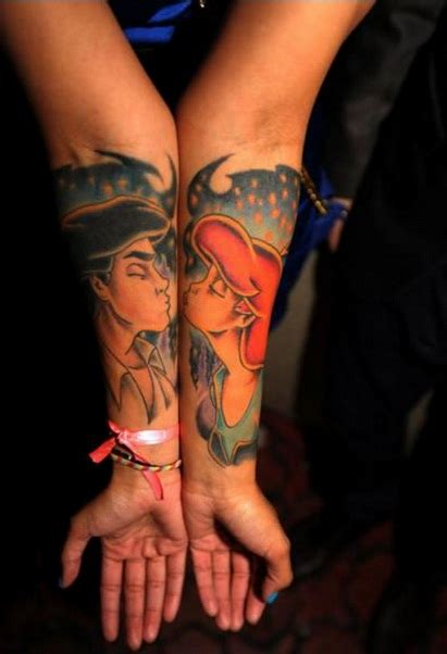 52 best couples tattoos ideas and images piercings