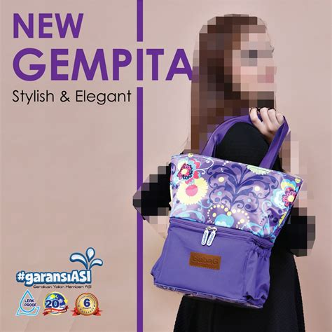 Gabag Gempita Cooler Bag gabag new gempita cooler bag asi tas pendingin asi
