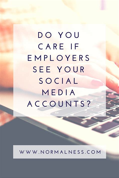 Do Employers Care Where Your Mba Is From by Do You Care If Employers See Your Social Media Accounts