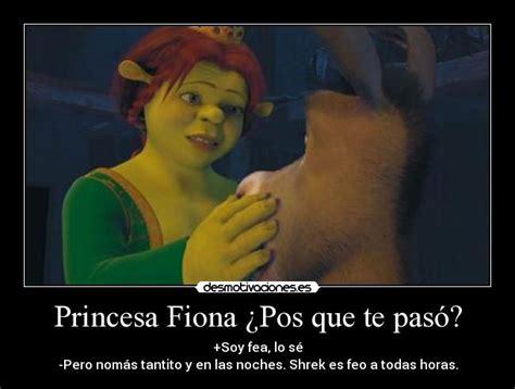 imagenes de amor chistosos del burro shrek princesa fiona 191 pos que te pas 243 desmotivaciones
