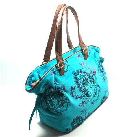 Velvet Tote Bag couture turquoise velvet tote bag yhrus477