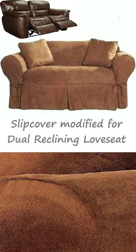 Slipcover For Dual Reclining Sofa 105 Best Slipcover 4 Recliner Images On