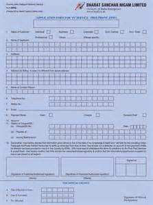 Letter Format For Cancellation Of Bsnl Broadband Forms