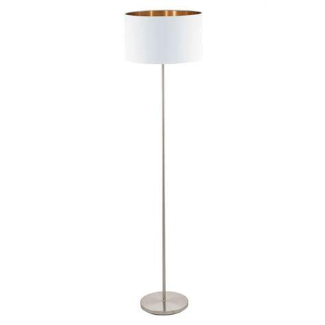 eglo pasteri wall light eglo lighting pasteri single light floor l in satin