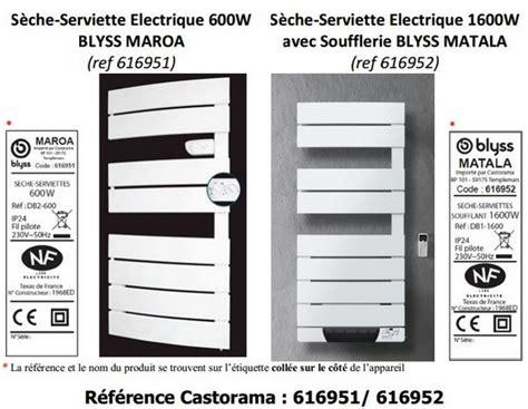 Radiateur Sèche Serviette Soufflant 4097 by Seche Serviette Electrique Castorama Petit Seche