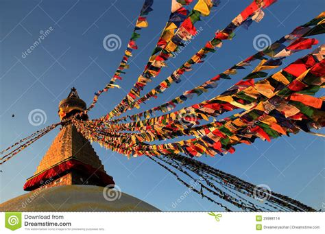 tibet experiencing buddhist culture on boudhanath stupa stock images image 29988114