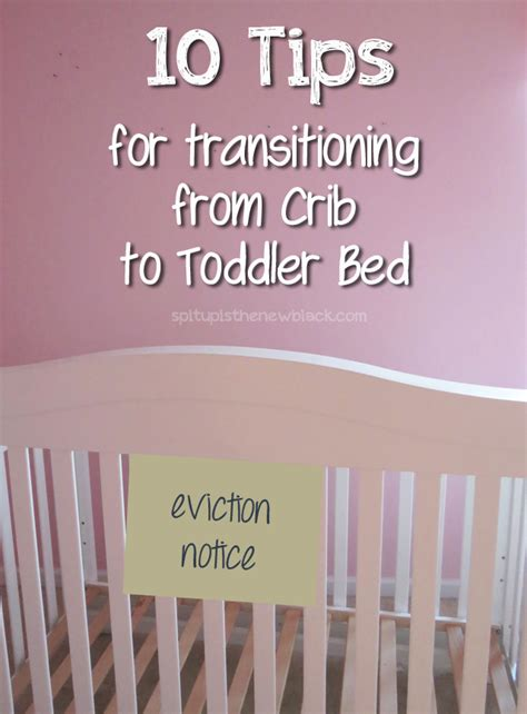 10 Tips For Transitioning From Crib To Toddler Bed Spit Transitioning From Crib To Toddler Bed