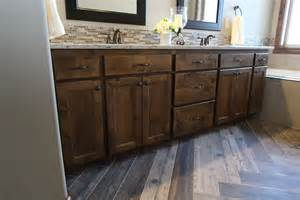 sinks master bath: thumb vanity traditional style knotty alder dark color recessed panel