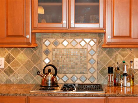 how to tile a backsplash in kitchen picking a kitchen backsplash hgtv