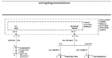 dodge grand caravan el system wiring diagrams schematic wiring diagrams solutions