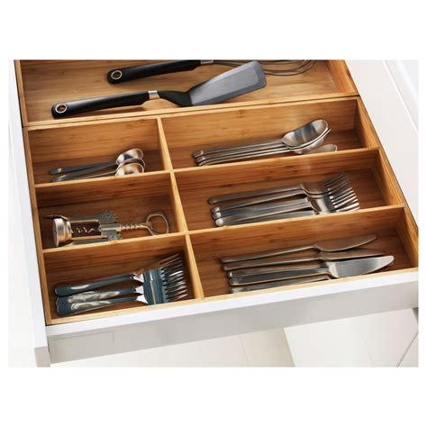 variera knife tray bamboo 20x50 cm ikea variera cutlery tray bamboo 32x50 cm ikea