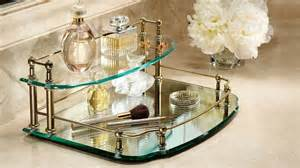 belmont two tier mirrored vanity makeup from frontgate