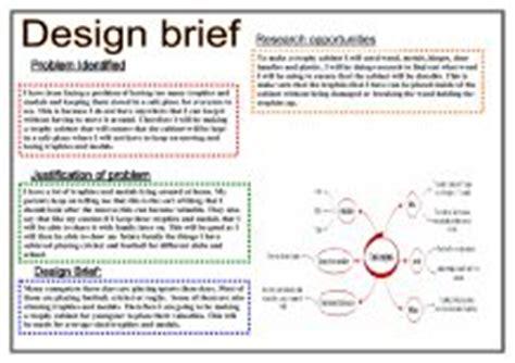 design brief grade 7 design brief gcse design technology marked by