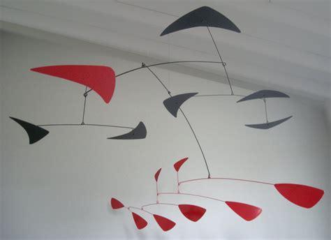 Hanging Art | large images hanging mobiles modern calder style hanging