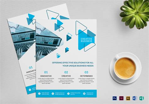 Free Business Flyer Design Templates Photoshop