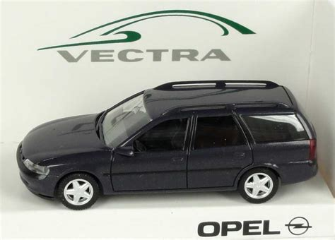 opel vectra b caravan 1 87 opel vectra b caravan anthrazit met werbemodell herpa