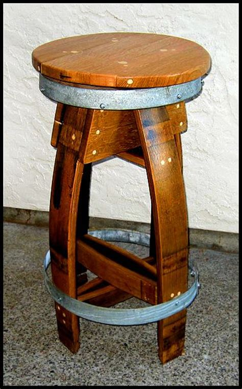 Wine Barrel Stool by Wine Barrel Stool Home Decor