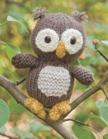 how to knit a owl knitted owl patterns knitting