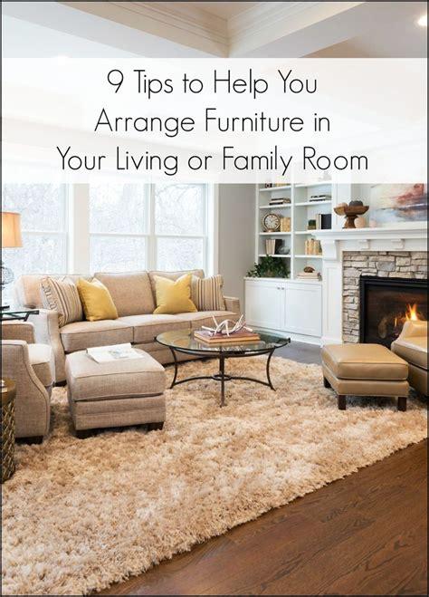 living room arrangement    narrow