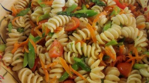 pasta salad with rotini whole wheat rotini pasta salad recipe allrecipes com