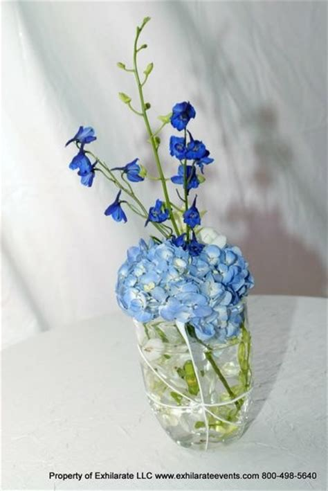blue hydrangea centerpiece blue hydrangea centerpiece exhilarating linen table decor blue hydrangea