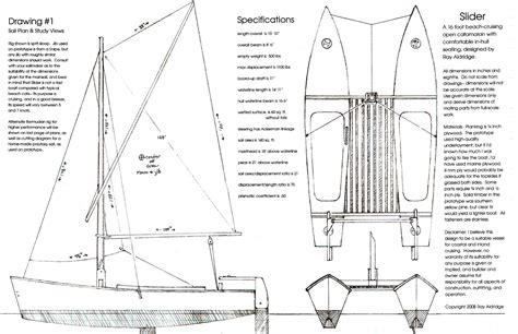 diy trimaran sailboat plans franse