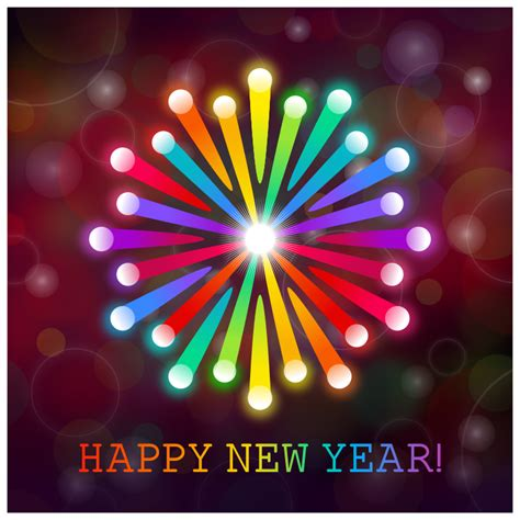 happy new year pic clipart happy new year card
