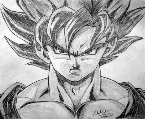 Cool Z Drawings by Goku By Animer96 On Deviantart