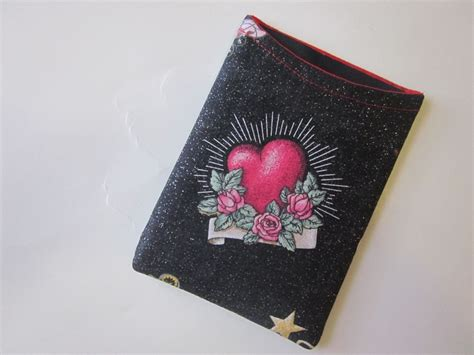 crafted handmade passport cover sleeve