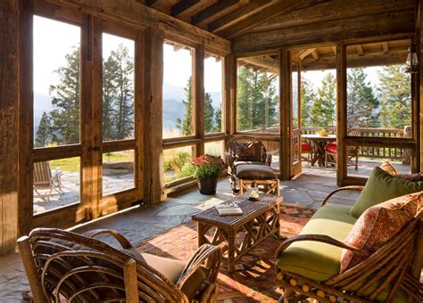 Interior Design For Log Homes Great Screened Porches Volume 1