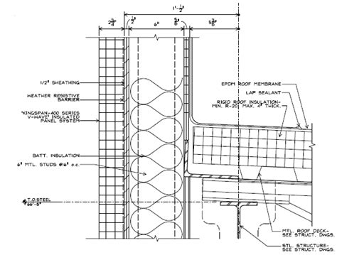 steel building section figure 4
