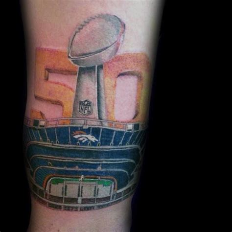 40 Denver Broncos Tattoos For Men Football Ink Ideas Denver Broncos Tattoos