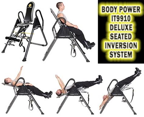 power inversion table price power it9910 deluxe seated inversion system best