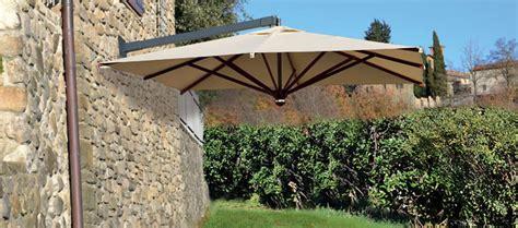 ombrelloni da giardino in legno ombrellone pensile in legno zenith