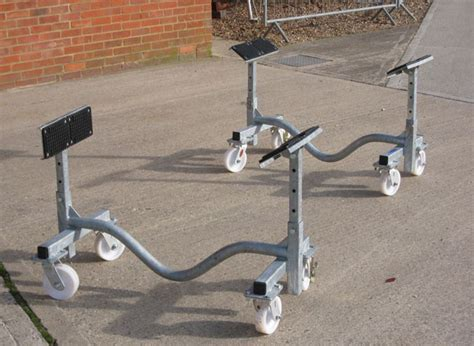 boat motor dolly the yacht leg and cradle company yacht legs yacht