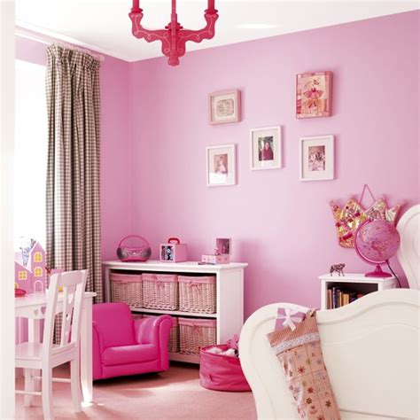vibrant pink s bedroom children s furniture pink paint housetohome co uk