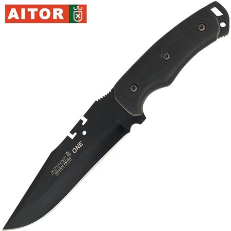 aitor knife buy the aitor uno black hunters knives