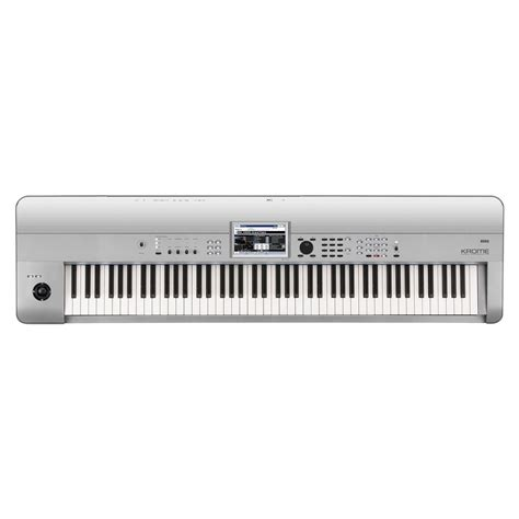 Keyboard Korg Krome 88 korg krome 88 88 key workstation platinum at