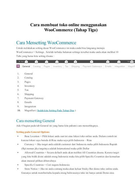 cara membuat na cmc 1 cara membuat toko online menggunakan woo commerce