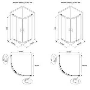 cabine de water quart de cercle 80 224 90 cm