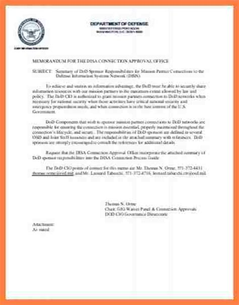 Dod Memorandum Template by 8 Department Of Defense Letterhead Template Company