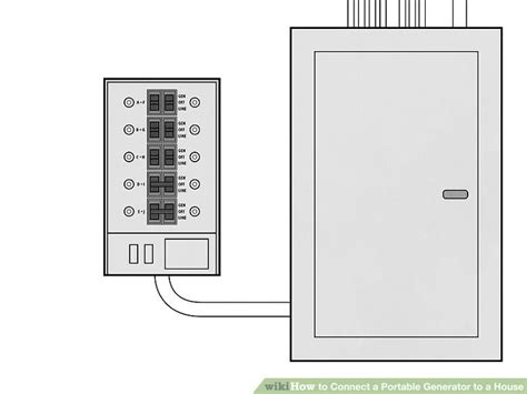 connecting generator to house wiring diagram wiring
