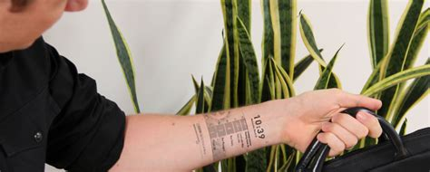 interactive tattoo app introducing the world s first electronic ink tattoo mobile