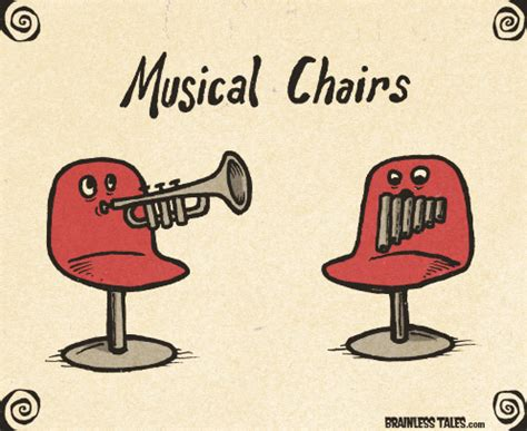 Musical Chairs by Image Gallery Musical Chairs