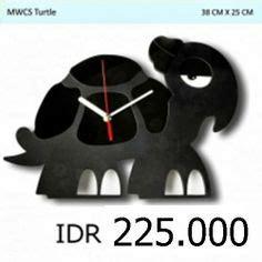 Jam Dinding Unik Artistik Enjoy Wall Clock Limited silhouettes
