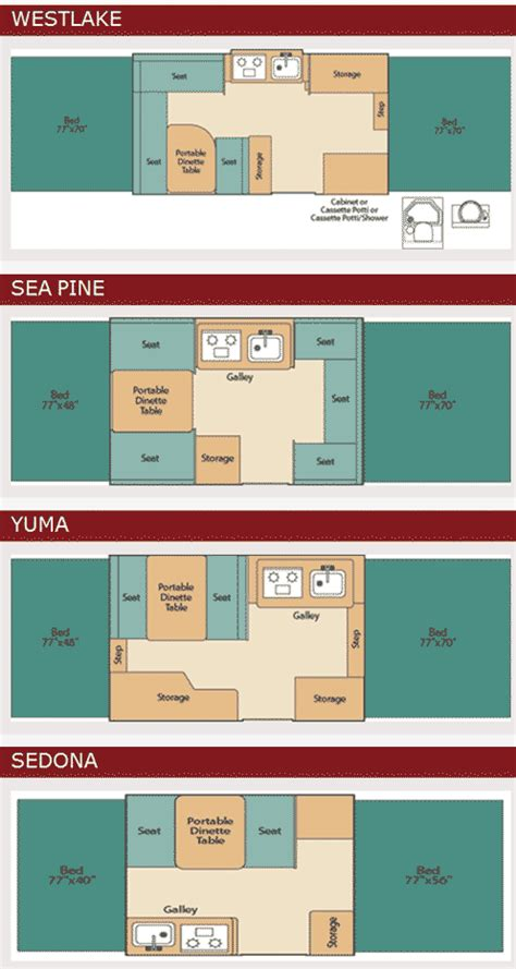 coleman pop up cer floor plans roaming times rv news and overviews