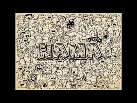 cara membuat kartu nama osis cara membuat doodle art tinggal ganti nama gratis youtube