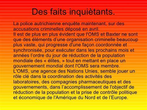libro lordre du jour un 97 le vaccin de la conspiration