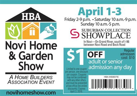 promo code for home design and remodeling show discount tickets for home and garden show columbus