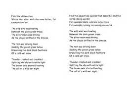 alliteration poem template alliteration poem by sasa134 teaching resources tes